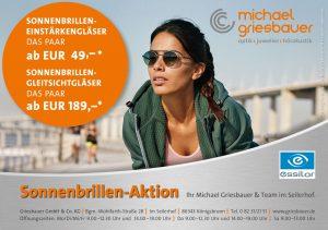 Sonnebrillen Aktion bei Michael Griesbauer